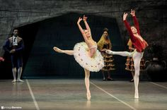 Don Quijote, Ma Noel Ricetto y Ciro Tamayo, primeros bailarines