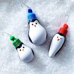 Penguin DIY Ornaments Clinton Kelly