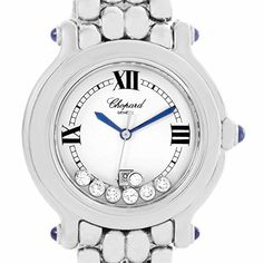 Chopard Happy Sport quartz white womens Watch 278236-3005 (Certified Pre-owned) >>> Read more at the image link. (This is an affiliate link) #Certifiedpreownedwatchesforwomen