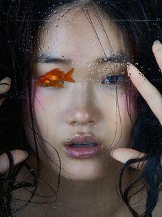 rtcloud — koreanmodel:   Shin Hyun Ji for Oyster Magazine no...