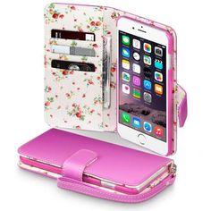 Köp Terrapin Mobilplånbok Apple iPhone 6/6S Plus Blommor rosa online: http://www.phonelife.se/terrapin-mobilplanbok-apple-iphone-6-plus-blommor-rosa