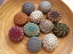 Crochet stones by me!
