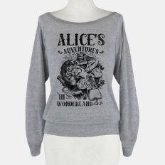 Alice's Adventures in Wonderland Sweatshirt