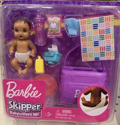 Barbie Chelsea Doll, Baby Barbie, Barbie Dolls Diy, Barbie Fashionista Dolls, Barbie Doll House, Barbie Toys, Barbie Dream, Little Girl Toys, Toys For Girls