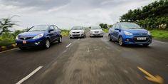 Tata Zest vs Maruti Suzuki Swift Dzire vs Honda Amaze vs Hyundai Xcent: Petrol Comparison Review