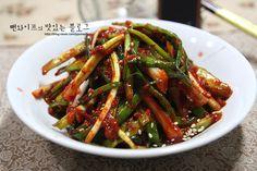 맵싸름하고 입맛 나는 초간단 파김치(쪽파김치 파김치 만드는 방법) : 네이버 블로그