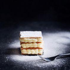 Millefeuille med vaniljekrem og appelsincurd | londonkjokken.com
