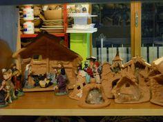 Atmosfera natalizia nel mio laboratorio ceramiche e...dintorni di Ketty Messina