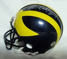 AAA Sports Memorabilia LLC - Chris Calloway NCAA Michigan Wolverines Hand Signed Mini Helmet, $97.50 (http://www.aaasportsmemorabilia.com/collegiate/chris-calloway-ncaa-michigan-wolverines-hand-signed-mini-helmet/)