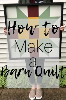 Be sure to check out this short article on how to make a barn quilt. It will help you figure out which spaces you could create one for and that they don't have to be gigantic. Barn Quilt Designs, Barn Quilt Patterns, Quilting Designs, Craft Patterns, Nine Patch, Quilting Projects, Craft Projects, Barn Board Projects, Craft Ideas