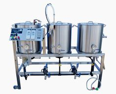 Homebrewing recipes Homebrewing Rigs, Brew Stands, Brewing Stands, Brew Sculptures and Home Brewing Racks Homebrew Recipes, Beer Recipes, Brew Stand, Beer Brewing Kits, Brewing Company, Home Brewery, Nano Brewery, Home Brewing Equipment, How To Make Beer