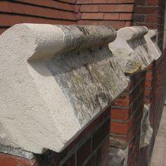 Plastic repairs to these Mortar Repair, English Heritage, Architectural Features, Brickwork, Cladding, Natural Stones, Restoration, Plastic, Wood