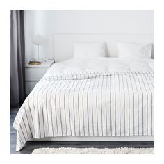 IKEA - SOMMAR 2016, Tagesdecke, 250x250 cm, , Die starken farbigen Fäden im Baumwollgewebe geben dem Bettüberwurf eine lebendige Struktur.
