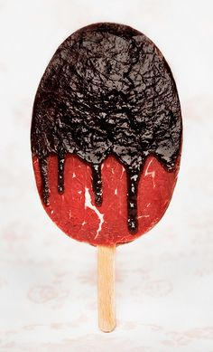 Sweet meat by Austrian photographer Jasmin Schuller    Meat in the form of dessert.