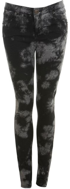 """Dark Tie Dye Skinny Jeans - LOVE! But I don't think I can pull off the """"skinny jeans"""" look haha.."""