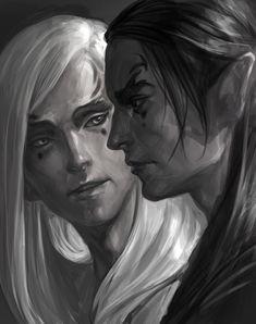 Manwe and Melkor