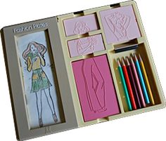 Fashion Plates - the time i wanted to be a designer