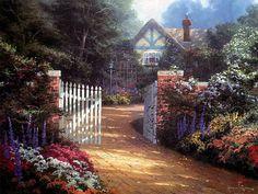 Beyond the Garden Gate 03 Thomas Kinkaid