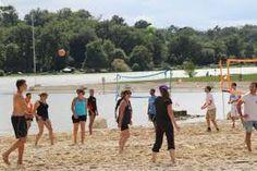 Fête du 15 Août au Lac de l'Uby - Baech Volley