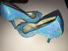 71713ff49d733 Used Women s pair of blue peep-toe Stuart Weitzman heels size 7 Best Offers  for sale in Toronto - letgo