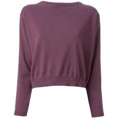 Brunello Cucinelli Cropped Sweater found on Polyvore