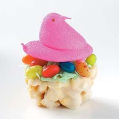 Nesting Chicks Recipe from Taste of Home #peeps. #ExpressYourPeepsonality