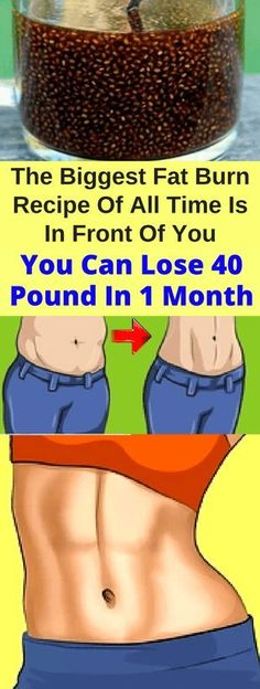 The Biggest Fat Burn Recipe Of All Time Is In Front Of You! You Can Lose 40 Pound In 1 Month - Workout Hit