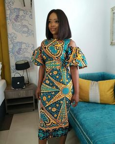 browse our collection of modern African Ghanaian Ankara dress styles 2019 for African American women to rock this year and to stay keep up with the latest trends in the African and Ghanaian fashion trend in Africa and around the world. African Print Dresses, African Print Fashion, Africa Fashion, African Fashion Dresses, Ankara Fashion, Modern African Fashion, Modern African Dresses, African Clothes, African Dress Styles