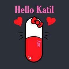 """El nuevo medicamento para el dolor de cabeza... el """"Hello Katil"""""""