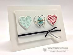 Mojo Monday: Stampin' Up! Hearts a Flutter - Stampin' Up! Demonstrator - Mary Fish, Stampin' Pretty Blog, Stampin' Up! Card Ideas & Tutorials