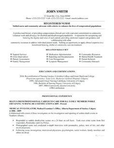 pin by ririn nazza on free resume sample pinterest nursing