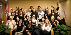 The Toronto team gets together for new web photos during the summer of 2012 and snaps this pic!