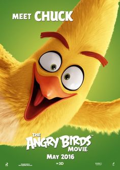 The Angry Birds Movie (2016)  GRS says:  Loved Chuck!  Actually, the movie in total.  It was fun!