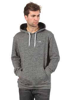 Vans Core Basic Hooded Sweat black heather