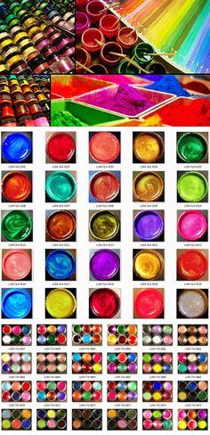 Luminarte new 35 colours of Acrylic Silks