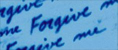 ''Forgive me.''