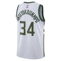 Giannis Antetokounmpo Association Edition Swingman Jersey (Milwaukee Bucks)  Men s Nike NBA Connected Jersey - bdafad3b7