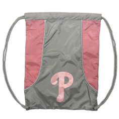 MLB Philadelphia Phillies Axis Backsack, Pink by Concept 1. $9.99. This backsack is a lightweight and durable bag, convenient to take along for different activities and carry your gear while sporting your favorite team.. Save 33%!