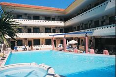 Pefkohori hoteli: Hotel Philoxenia spa Spa, Club, Mansions, House Styles, Outdoor Decor, Home, Manor Houses, Villas, Ad Home
