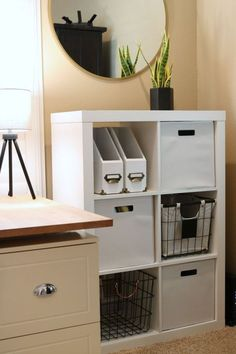 Easy And Cheap DIY Home Office Organization Ideas can find Home office organization and more on our website.Easy And Cheap DIY Home Office Organization Ideas 29 Home Office Space, Home Office Design, Home Office Decor, Trendy Home Decor, Cheap Home Decor, Diy Home Decor, Room Decor, Small Office Organization, Organization Ideas