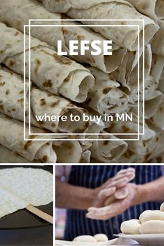No true Minnesotan can let a holiday season go by without a piece of homemade lefse. Pick up a pack of lefse at one of these Minnesota stores or find supplies to make your own lefse.
