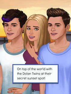 Watching the sunset at our secret paradise! #DolansDoEpisode http://bit.ly/EpisodeEthanGrayson http://bit.ly/EpisodeHere