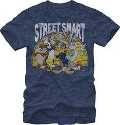 LOONEY TUNES: STREET SMART $19.95 To know more go http://streetlegaltshirts.com/ #T #Shirts #tshirt #t-shirt #movie
