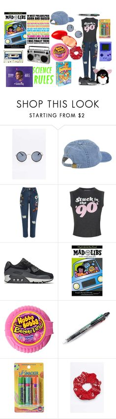 """Nostalgia"" by theironlylover ❤ liked on Polyvore featuring River Island, Wildfox, NIKE, Bonne Bell and Urban Renewal"