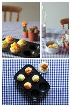 Verjaardags cupcakes