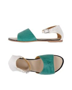Esquível Women Sandals on YOOX. The best online selection of Sandals Esquível. YOOX exclusive items of Italian and international designers - Secure payments Esquivel, Emerald Green, Soft Leather, Shoes Sandals, Style, Swag, Tassel, Outfits