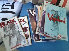 Old times... I miss a lot my Mangas.