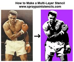 Stencil Tutorials: Learn How to Make a 3 Part Multi-Layer Stencil with Phtotshop