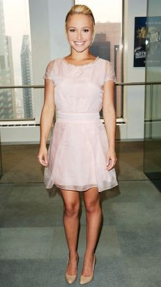 Pink dress with blue shoes etc  Inspiring outfits  Pinterest ...