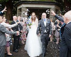 #brideandgroom #weddingphotography #cardiffwedding #wedding #churchwedding #confetti #weddingconfetti